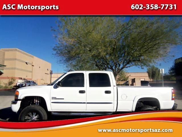 2006 GMC Sierra 2500HD SLT Crew Cab Short Bed 4WD