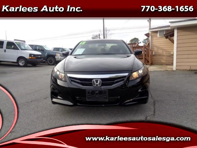 2012 Honda Accord EX-L Coupe AT