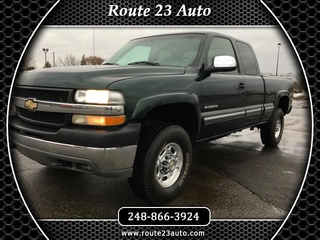 2002 Chevrolet Silverado 2500HD LT Ext. Cab Long Bed 4WD