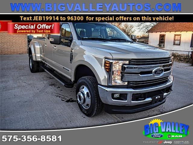2018 Ford F-350 SD Lariat Crew Cab Long Bed DRW 4WD