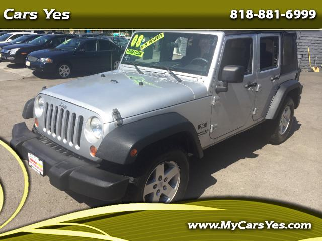 2008 Jeep Wrangler Cars Yes is here to help you get a great deal today No matter your Credit we can