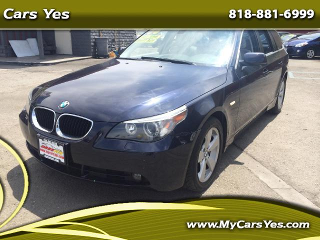 2006 BMW 5-Series Sport Wagon Join our Family of satisfied customers We are open 7 days a week trad