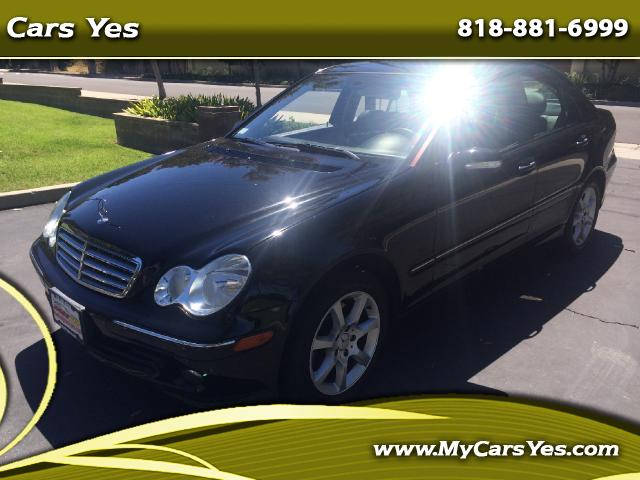 2007 Mercedes C-Class WOW CHECK THIS ONE OUT LOW MILES BLACK ON BLACK EXTRA CLEAN WE FINANCE Join ou