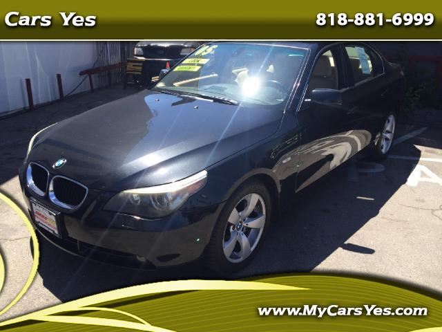 2005 BMW 5-Series WOW CHECK THIS ONE EXTRA CLEAN PRICE RIGHT TO SALE LEATHER IS LIKE NEW ONE OWNER W