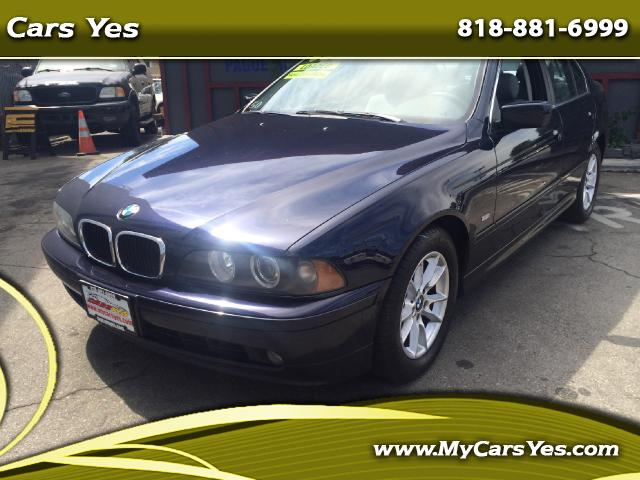 2003 BMW 5-Series WOW CHECK THIS ONE OUT ONLY 124K MILES SUPER CLEAN AUTO SUNROOF NEED TO SE TO BELI