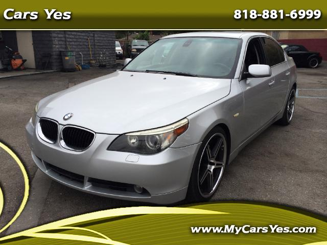 2006 BMW 5-Series Join our Family of satisfied customers We are open 7 days a week trade in welcome