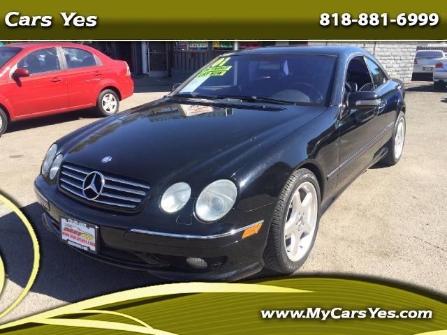 2001 Mercedes CL-Class WOW CHECK THIS ONE OUT BLACK ON BLACK AMG CL 55 HARD TO FIND WE FINANCE Join
