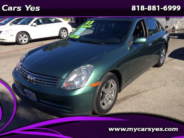 2003 Infiniti G35 Join our Family of satisfied customers We are open 7 days a week trade in welcom
