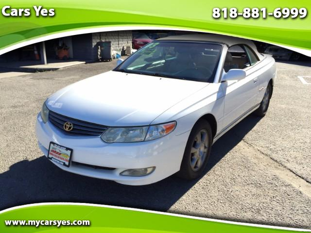 2003 Toyota Camry Solara Join our Family of satisfied customers We are open 7 days a week trade in