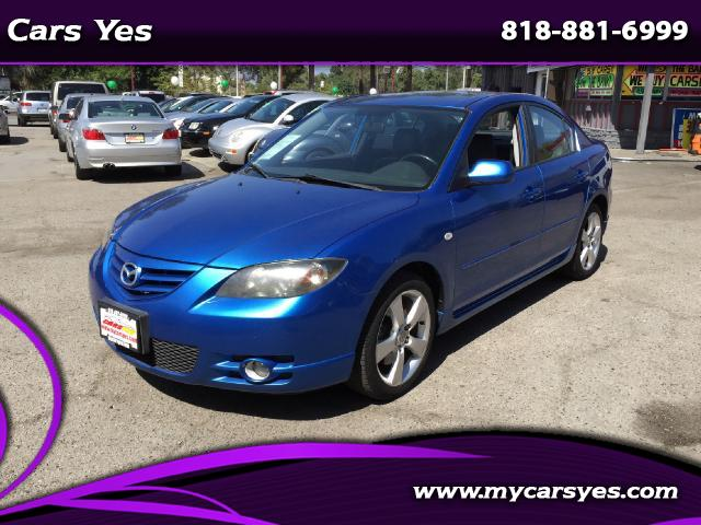 2004 Mazda MAZDA3 WOW CHECK THIS ONE OUT LEATHER GREAT COLOR WITH BLACK INTERIOR WE FINANCE GIVE US
