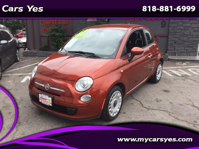 2013 Fiat 500 CHECK THIS FIAT OUT LOW MILES AUTO HARD TO FIND HARD TO FIND COLOR GAS SAVER ONE OW