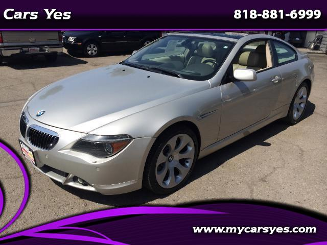 2005 BMW 6-Series WOW CHECK THIS ONE OUT SMG TRANSMISSION HARD TO FIND WE FINANCE Join our Family o