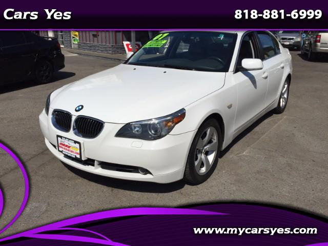 2007 BMW 5-Series Join our Family of satisfied customers We are open 7 days a week trade in welcom