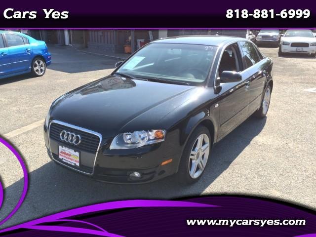 2007 Audi A4 WOW CHECK THIS BLACK BEAUTY LEATHER LIKE NEW AUTO TURBO AC PRICE RIGHT TO SALE HARD TO