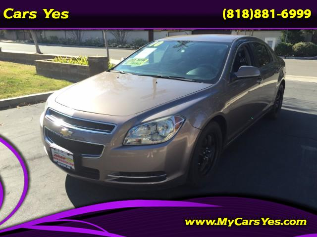 2010 Chevrolet Malibu WOW CHECK THIS ONE OUT LOW MILES AUTO GREAT GAS SAVER WE FINANCE DONT WORRY A