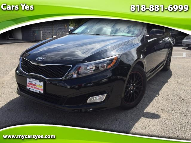 2014 Kia Optima WOW CHECK THIS ONE OUT LOW MILES WE FINANCE GDI MODEL BLACK BEAUTY AUTO LIKE NEW WE