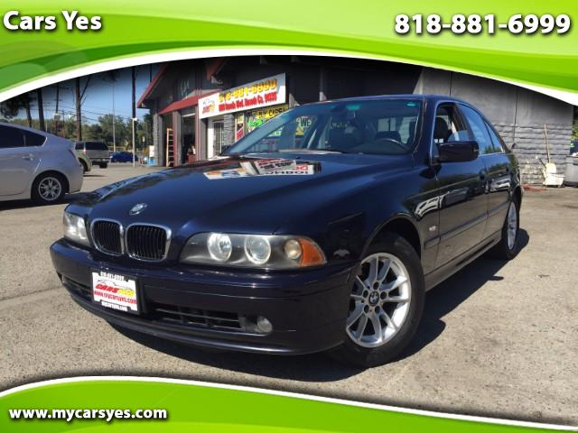 2003 BMW 5-Series Join our Family of satisfied customers We are open 7 days a week trade in welcom