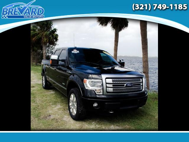 2014 Ford F-150 Platinum 4WD SuperCrew 5.5' Box