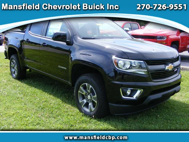 2017 Chevrolet Colorado Z71 Crew Cab 4WD Long Box