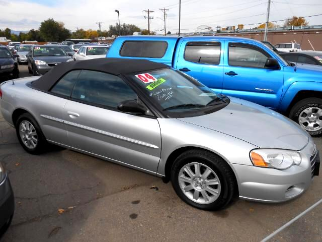 2004 Chrysler Sebring EXCEPTIONALLY NICE LOCAL NEW CAR TRADE IN THAT LOOKS AND DRIVES EXCELLENTN