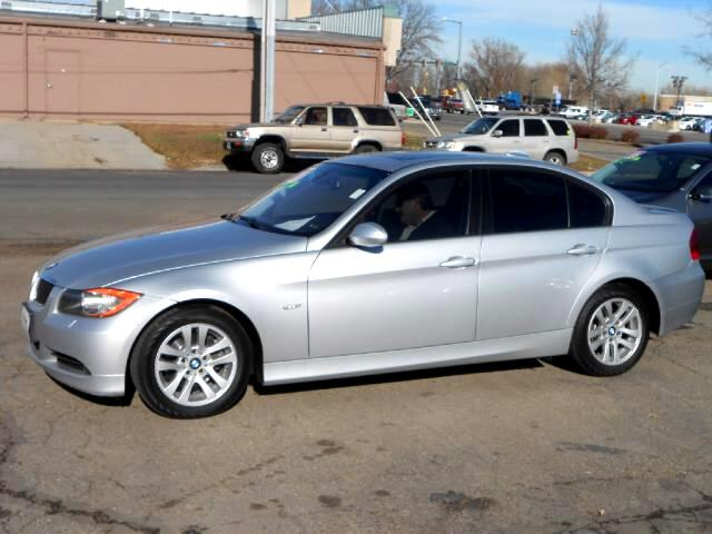 2007 BMW 3-Series ABSOLUTE CREAM PUFF LOCAL NEW CAR TRADE IN THAT LOOKS AND DRIVES EXCELLENTNON