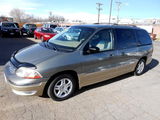 2001 Ford Windstar VERY NICE LOCAL TRADE IN THAT LOOKS AND DRIVES EXCELLENTNON SMOKERLEATHER