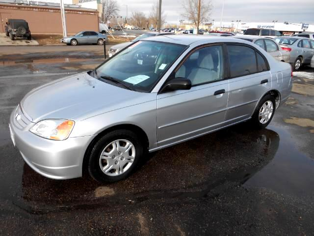 2001 Honda Civic GREAT RUNNING LOCAL NEW CAR TRADE IN THAT LOOKS AND DRIVES EXCELLENTNON SMOKER