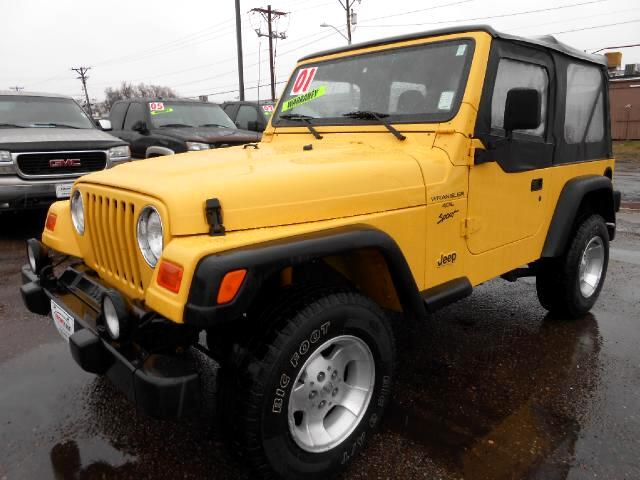 2001 Jeep Wrangler VERY NICE LOCAL NEW CAR TRADE IN THAT LOOKS AND DRIVES EXCELLENTNON SMOKER