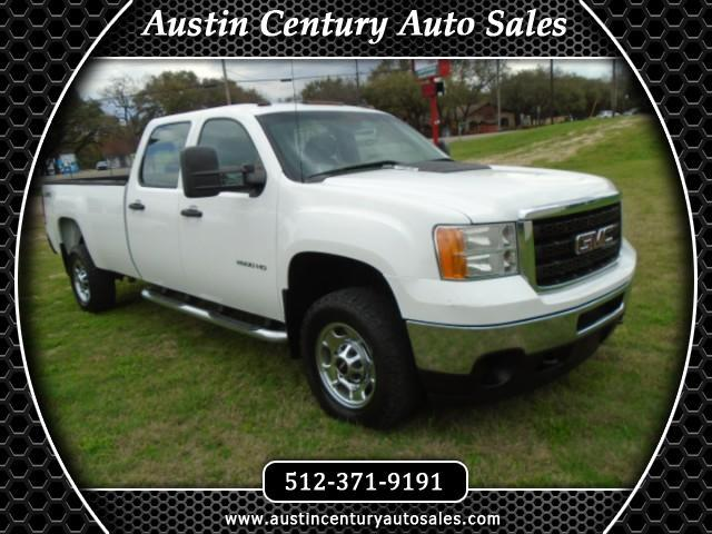 2013 GMC Sierra 2500HD Work Truck Crew Cab Long Box 4WD