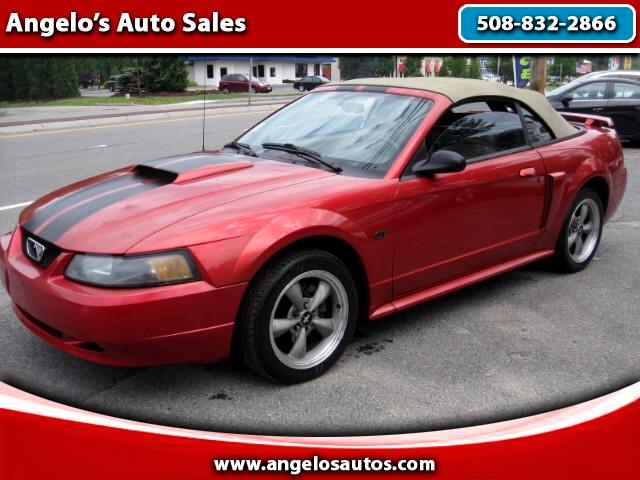 2001 Ford Mustang GT Premium Convertible