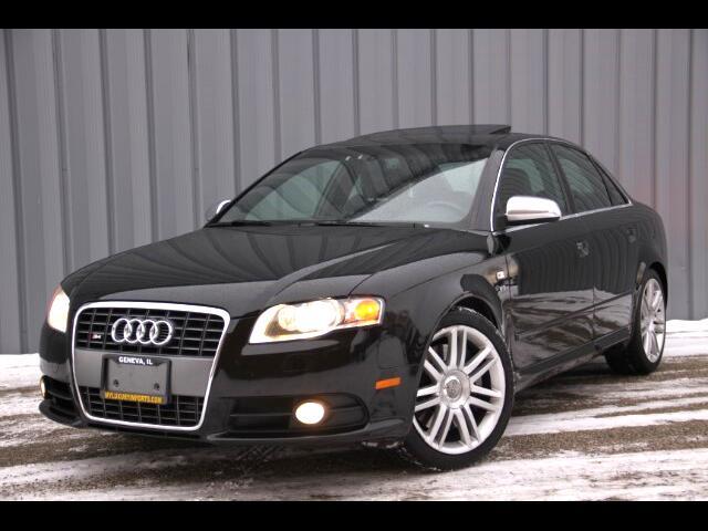 2007 Audi S4 Sport Sedan 6 MT