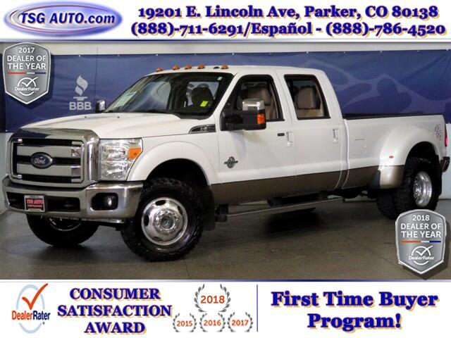 2011 Ford F-350 SD Lariat Super Crew 6.7L V8 Turbo Diesel 4WD DRW