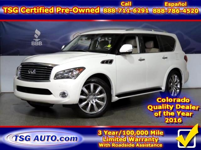 2012 Infiniti QX56 5.6L V8 4WD W/NAV Leather SunRoof