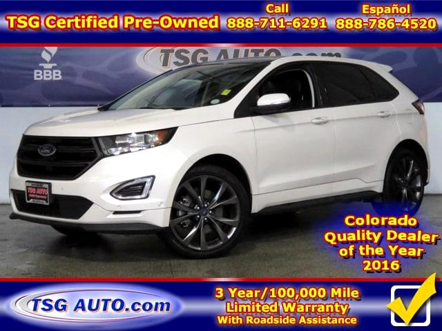 2015 Ford Edge Sport 2.7L V6 AWD W/NAV Leather SunRoof
