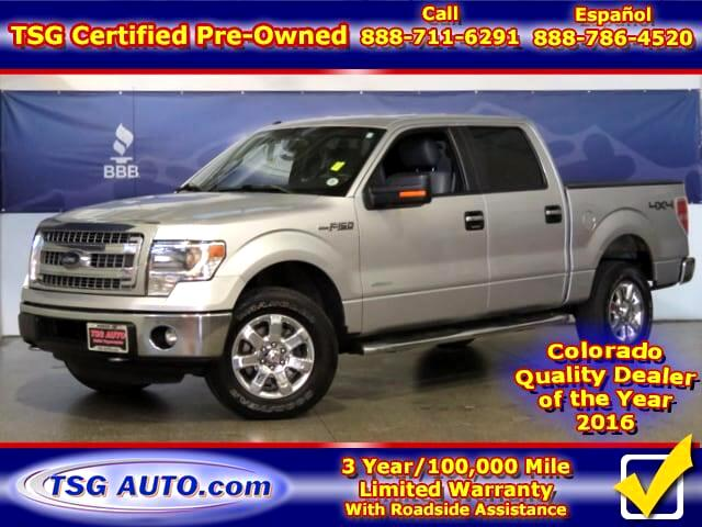 2014 Ford F-150 XLT Super Crew 3.5L V6 Turbo 4WD W/Leather