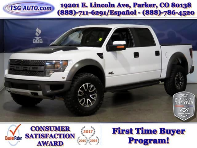 2013 Ford F-150 SVT Raptor 6.2L V8 4WD W/NAV Leather