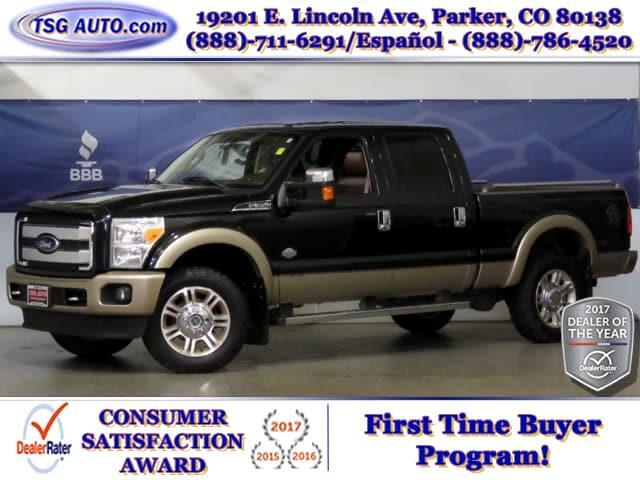 2011 Ford F-350 SD King Ranch Super Crew 6.7L V8 Turbo DIesel 4WD