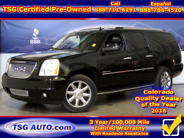 2013 GMC Yukon Denali Denali 6.2L V8 4WD W/NAV Leather SunRoof