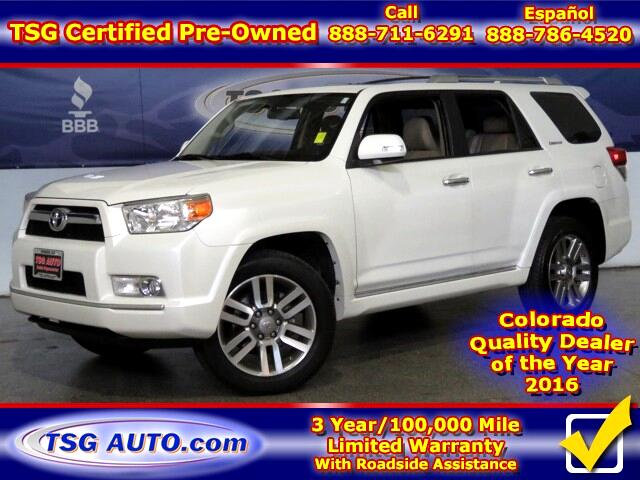 2013 Toyota 4Runner Limited 4.0L V6 4WD W/Leather