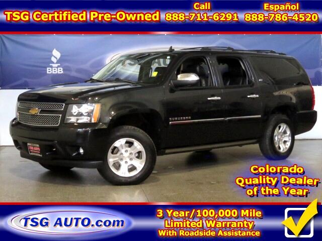 2013 Chevrolet Suburban LTZ 5.3L V8 4WD W/NAV Leather
