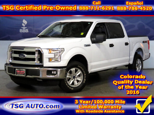 2016 Ford F-150 XLT 3.5L V6 4WD
