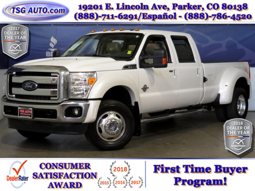 2012 Ford F-450 SD Lariat SuperCrew 6.7L V8 Turbo Diesel 4WD DRW