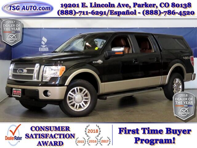 2010 Ford F-150 King Ranch SuperCrew 5.4L V8 Engine W/Leather SunR