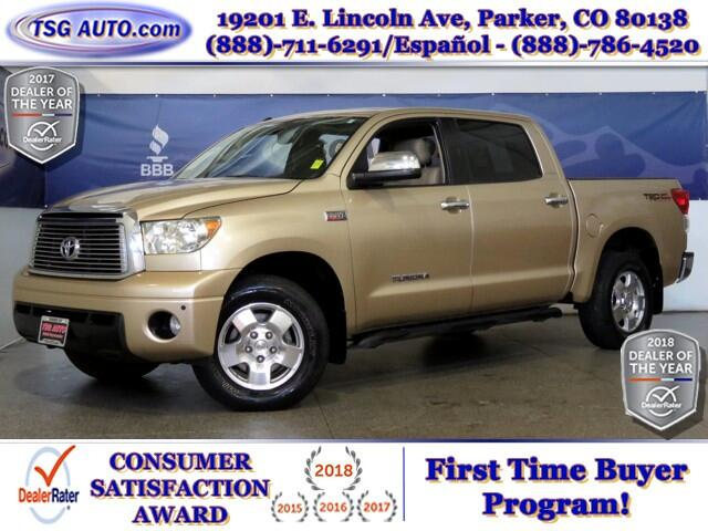 2010 Toyota Tundra Limited CrewMax 5.7L V8 4WD W/Leather
