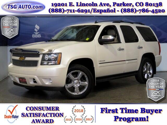 2013 Chevrolet Tahoe LTZ 5.3L V8 4WD W/NAV Leather
