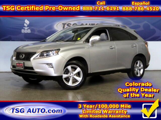 2015 Lexus RX 350 3.5L V6 AWD w/Leather Nav SunRoof LowMiles!