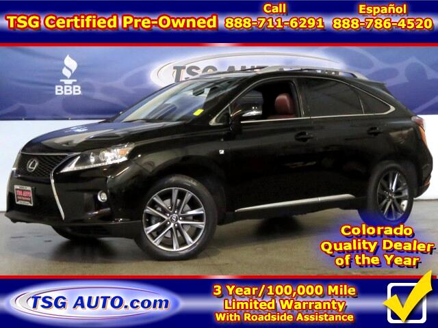 2015 Lexus RX 350 F Sport 3.5L V6 AWD W/NAV Leather