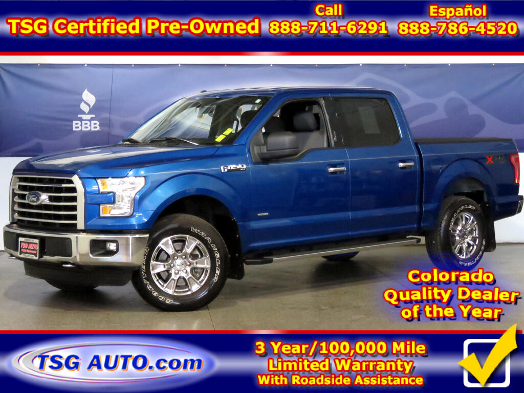 2015 Ford F-150 XLT Super Crew 2.7L V6 Turbo 4WD