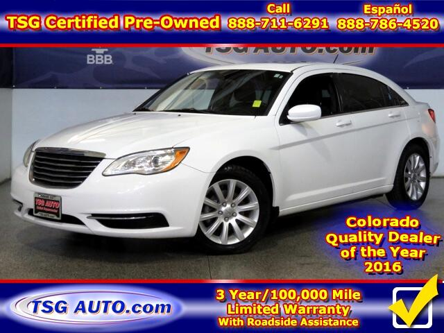2012 Chrysler 200 Touring 3.6L V6 W/SunRoof