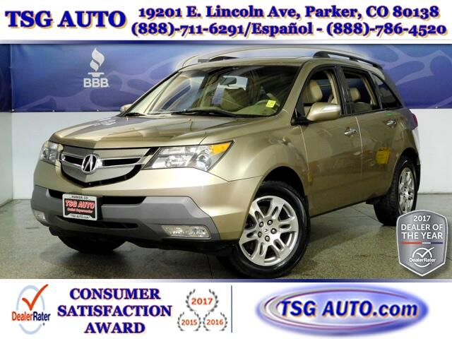 2007 Acura MDX 3.7L V6 4WD W/NAV Leather SunRoof